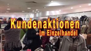 Kundenaktionen im Einzelhandel