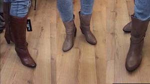 Warum Winterschuhe Damen günstig online kaufen? gefütterte Lederstiefel Damen im Ausverkauf Schuh-Palazzo Am Kaiserdamm 8 günstiger