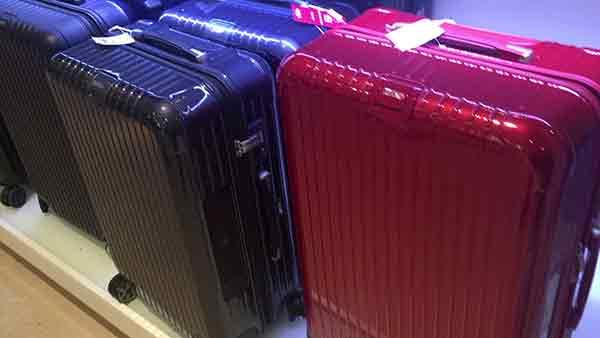Gute Rimowa Koffer günstig kaufen – Alukoffer auf Rollen – Hartschalenkoffer im Angebot im Räumungsverkauf wegen Geschäftsaufgabe in Aschaffenburg bei Leder Weis.