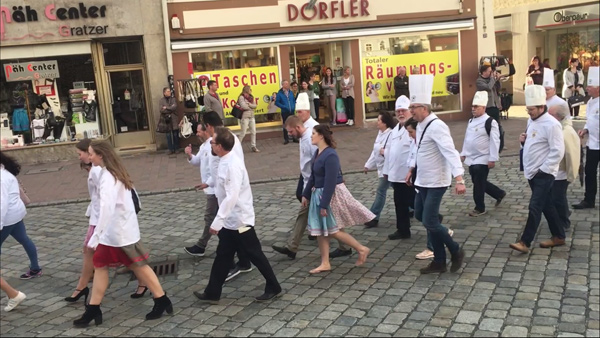 Frühjahrsdult Umzug Landshut 2018 Club der Köche Fotos Haack