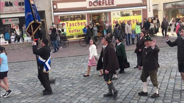 Frühjahrsdult Umzug Landshut 2018 Dult Bilder König Ludwig Verein e.V. Fotos Haack