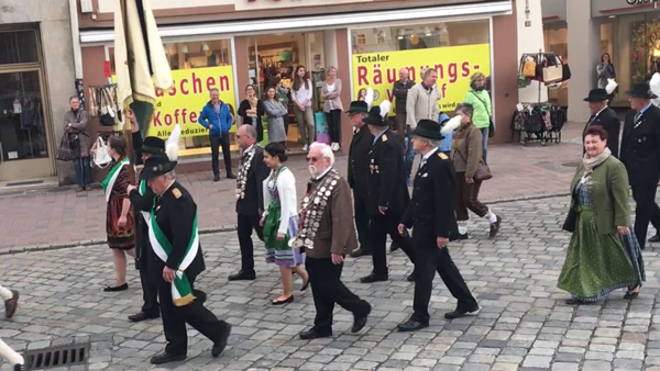 Frühjahrsdult Umzug Landshut 2018 Dult Bilder Königlich-privilegierte Feuerschützengesellschaft 1425 Fotos Haack