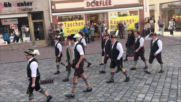 Frühjahrsdult Umzug Landshut 2018 Dult Bilder Neuhauser Stadtplattler Fotos Haack