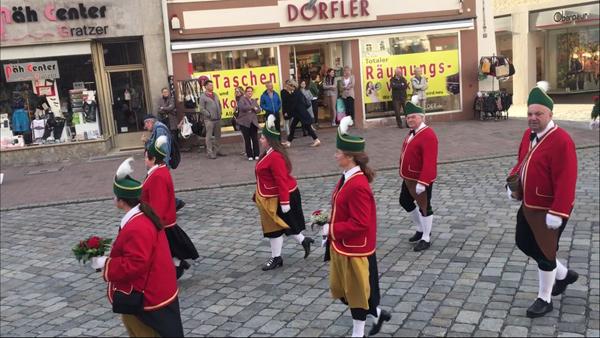 Frühjahrsdult Landshut 2018 Dult Umzug Bilder Schäfflergilde Landshut Fröhliche Berger Fotos Haack