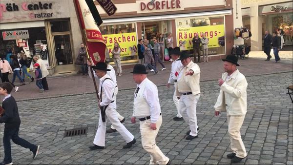 Frühjahrsdult Umzug Landshut 2018 Dult Bilder Verein der Maurer Landshut Fotos Haack