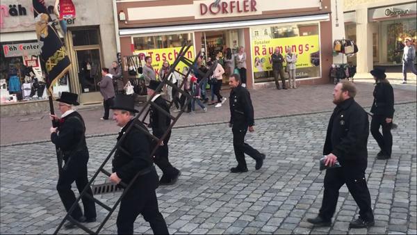 Frühjahrsdult 2018 Umzug Landshut Kaminkehrer - Innung Fotos Haack