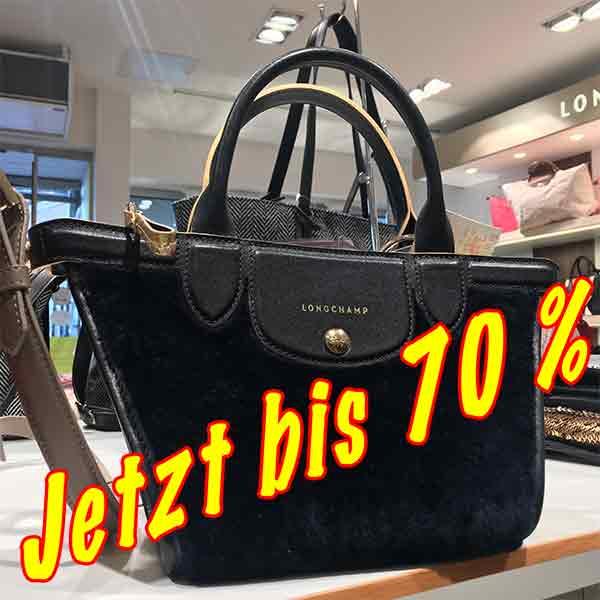 Marken Handtaschen bis zu 70 Prozent billiger
