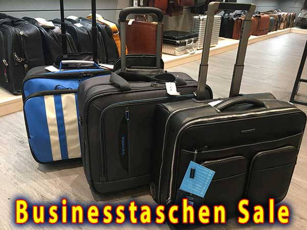 Business Trolley günstig kaufen in Oldenburg - Koffer Sale bei Leder Holert