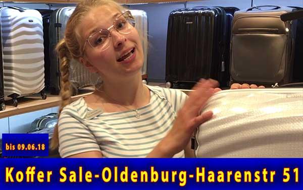 Samsonite Koffer Sale - Hartschale und Weichgepäck im Angebot bei Leder Holert in Oldenburg