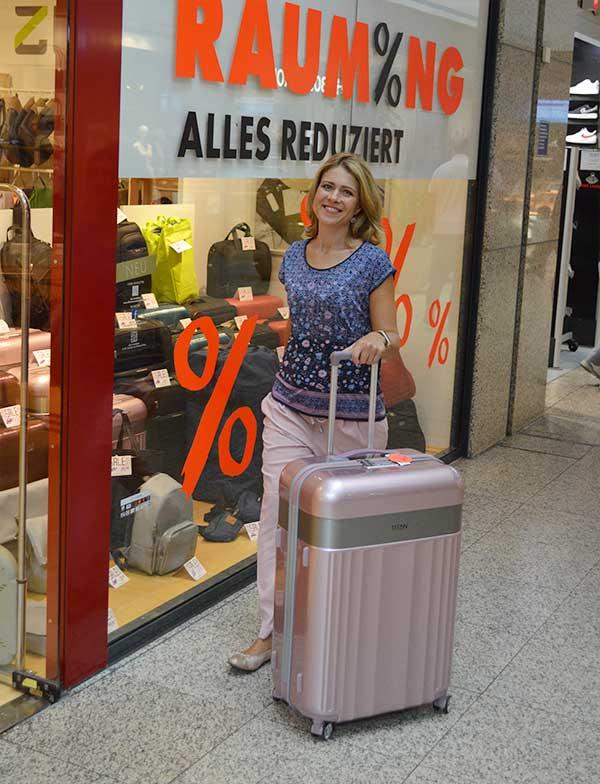 Koffer Sale - Handtaschen Räumungsverkauf wegen Filialschließung bei Offermann im Hürth Park und im Rheincenter Köln Weiden