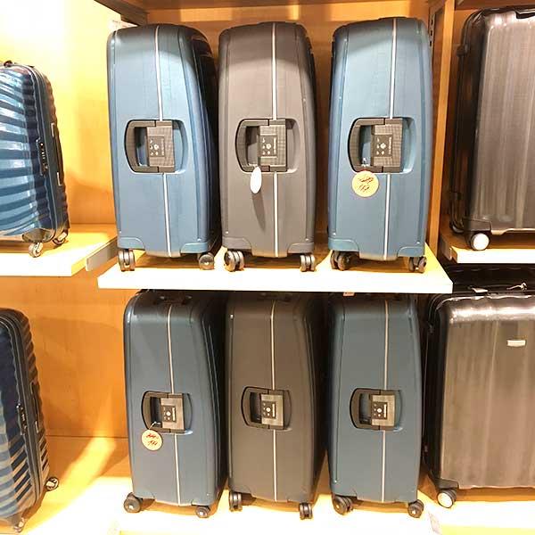Koffer-guenstig-kaufen-Koffer-SaleAusverkauf-wegen-Filialschliessung-Offermann-Aachen-Adalbertstr-35-und-Markt-54-Samsonite-S-cure