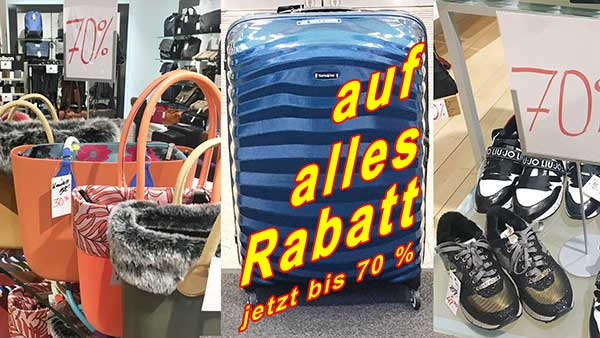 Gepaeck-Lagerraeumungsverkauf-Samsonite-Hartschalen-Trolley-guenstig-kaufen-Travelite-Luggage-for-Sale-Titan-Koffer-Angebote-bei-Dellwig-in-Hamm-Lederwaren-Fellmer-Lippstadt