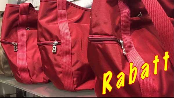Räumungsverkauf wegen Umbau Jetzt Marken Handtaschen günstig kaufen