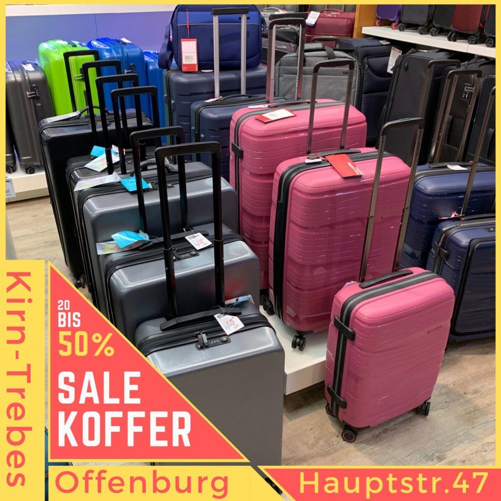 Marken Koffer von Stratic und Travelite. Koffer Sale in Offenburg - Lagerräumungsverkauf bei Kirn-Trebes