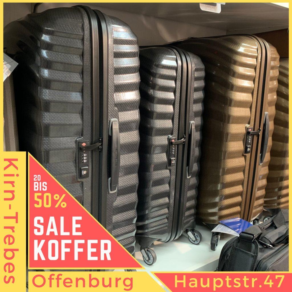 Marken Trolleys von Samsonite aus Curv sind unverwüstlich. Koffer Sale in Offenburg - Lagerräumungsverkauf bei Kirn-Trebes