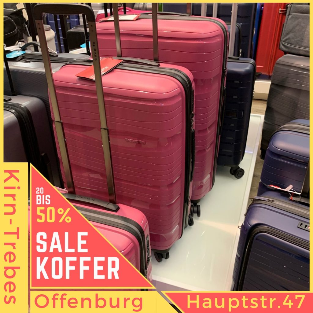 Koffer Sale in Offenburg - Lagerräumungsverkauf bei Kirn-Trebes